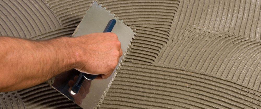 Современные сухие смеси для укладки керамической плитки