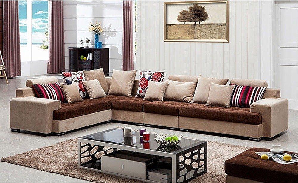 Мягкая мебель для гостиной: 10 идей интерьера фото 02-06