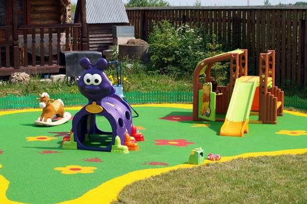 Основные правила безопасной детской площадки на даче