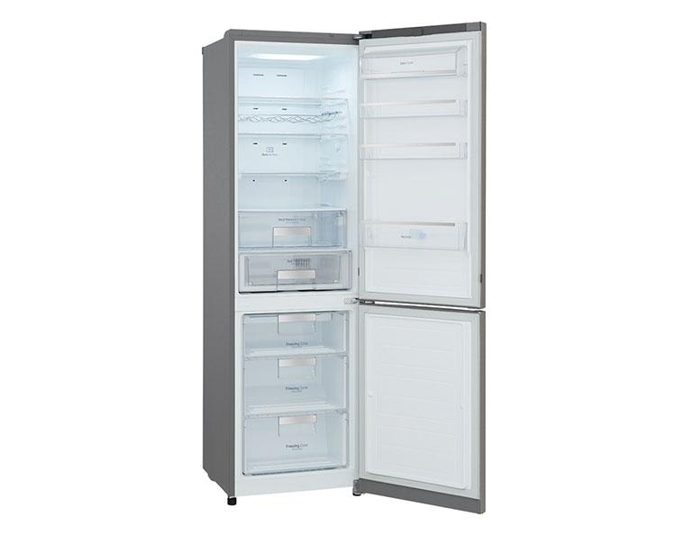 Холодильник LG GWB499SQFZ (Польша) - 2 место в рейтинге лучших холодильников по качеству и надежности 2018