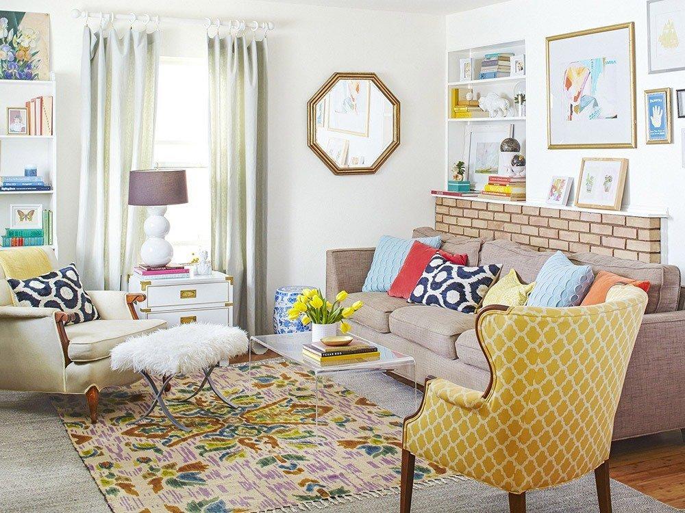 Мягкая мебель для гостиной: 10 идей интерьера фото 04-05