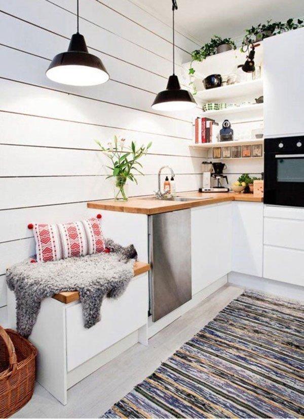 ТОП-10 идей для маленькой кухни фото 9