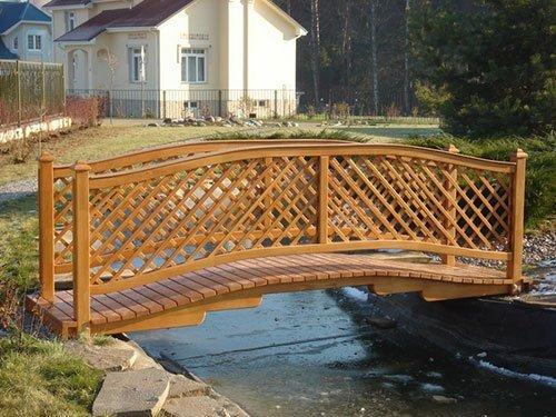Декоративные мостики своими руками фото 3