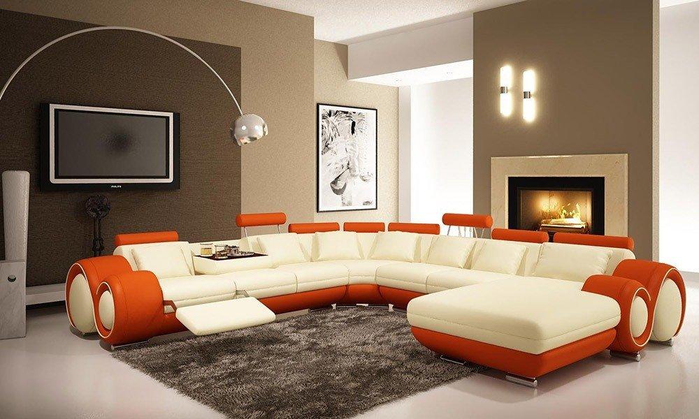 Мягкая мебель для гостиной: 10 идей интерьера фото 03-04