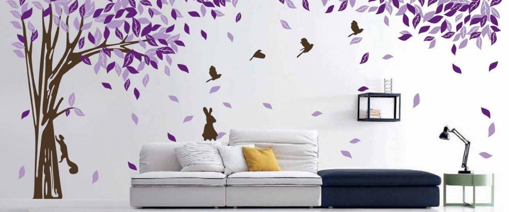 25 больших декоративных наклеек на стену до 500₽ из AliExpress