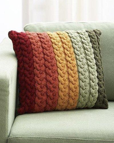 Свяжите свою подушку