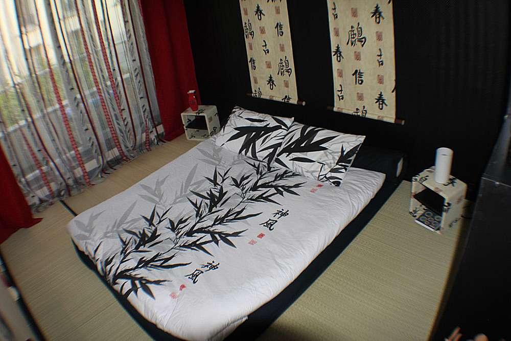 Восточные мотивы в оформлении интерьера спальни
