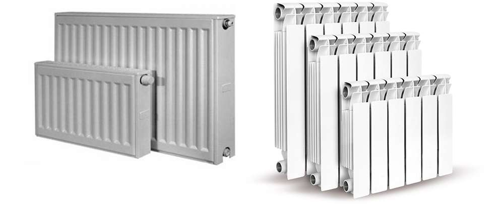 Алюминиевые  радиаторы отопления фото 3