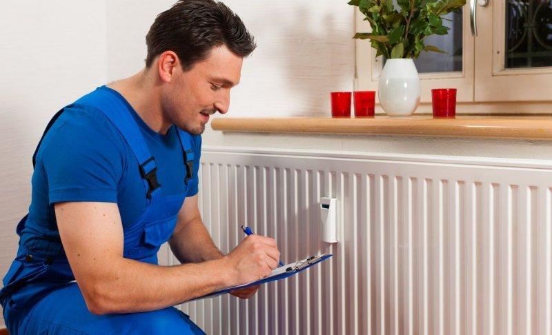 Распределение тепла от радиаторов отопления