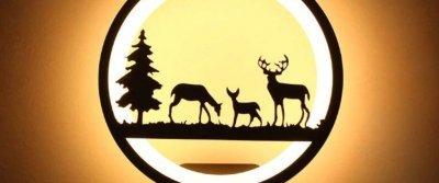 5 шикарных настенных ламп с AliExpress