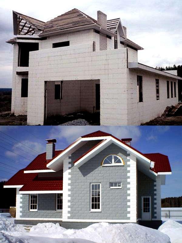 Виды и преимущества термоблоков для строительства дома