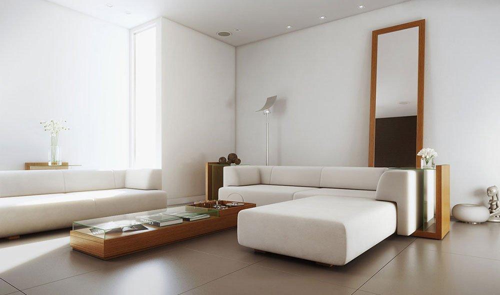 Современная гостиная фото 41