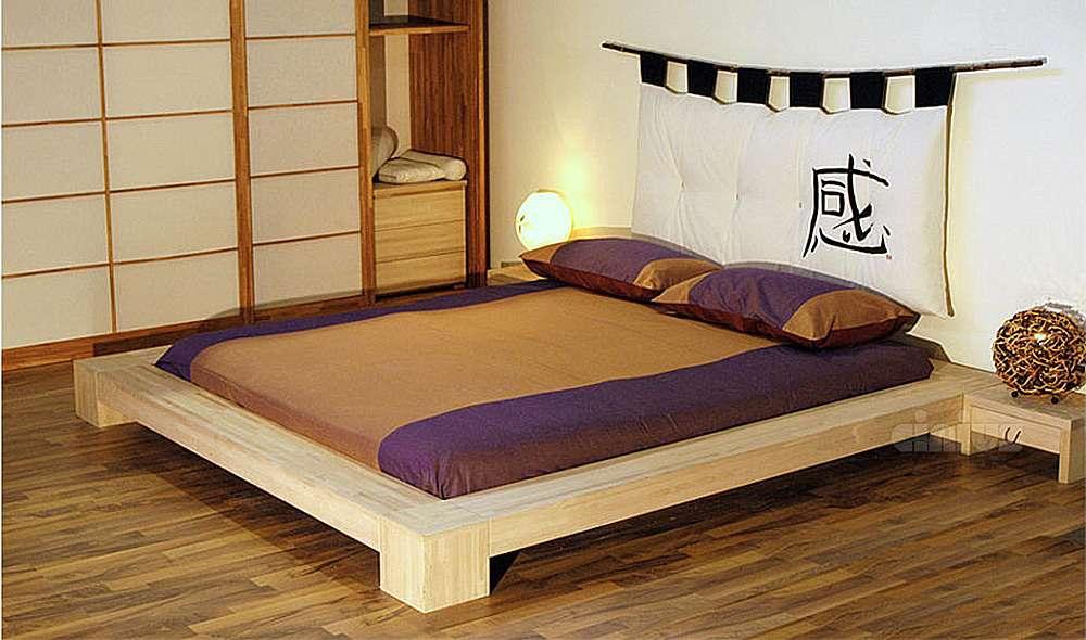 Оригинальный интерьер спальни в восточном стиле