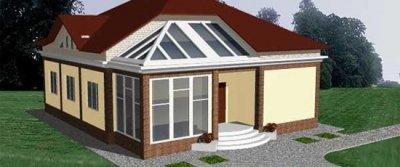 Одноэтажные дома с мансардой: расширяем жилое пространство