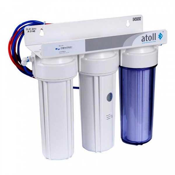 Рейтинг фильтров для воды под мойку Atoll A-313E Lux