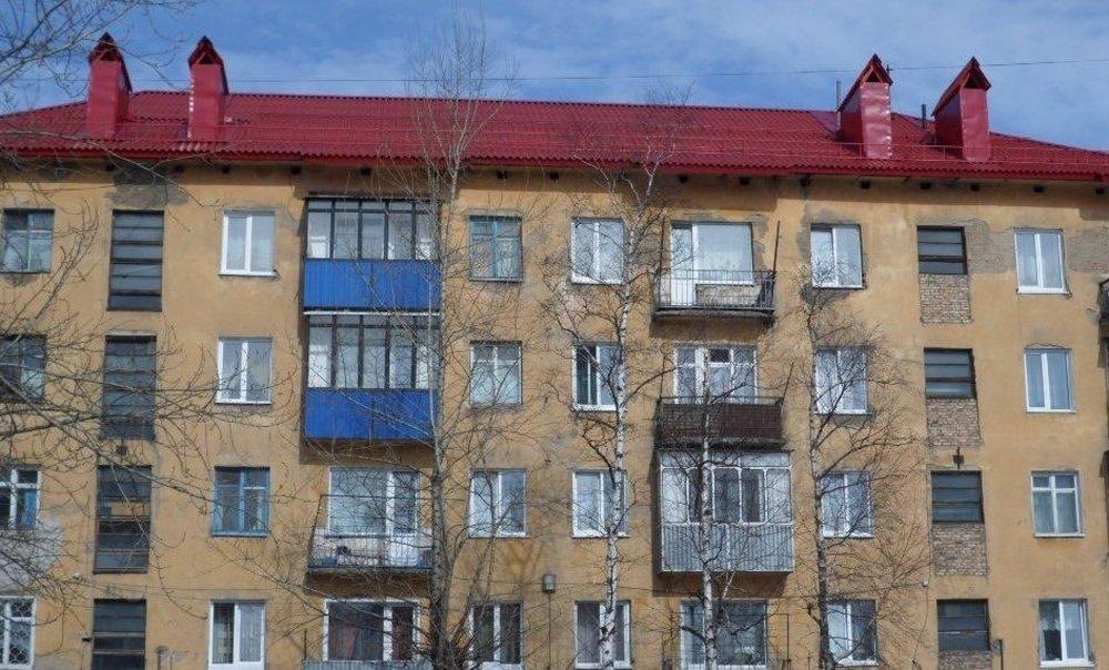 Крыша, отремонтированная шифером