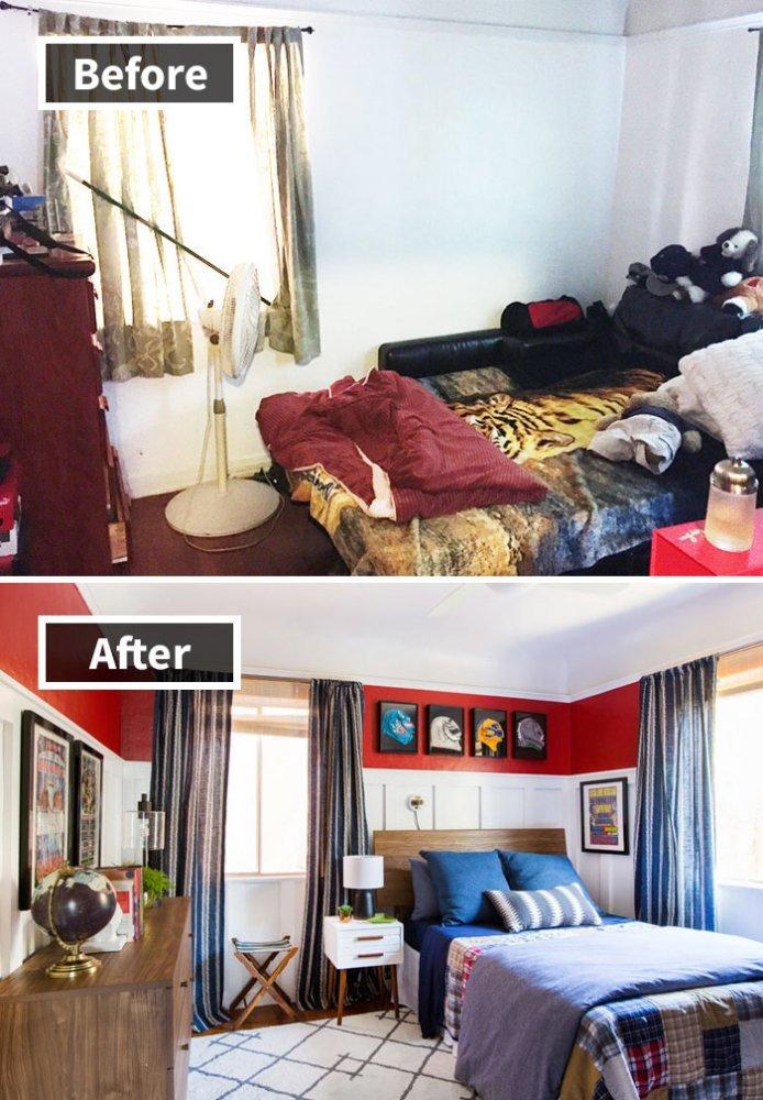 Ремонт до и после фото 18