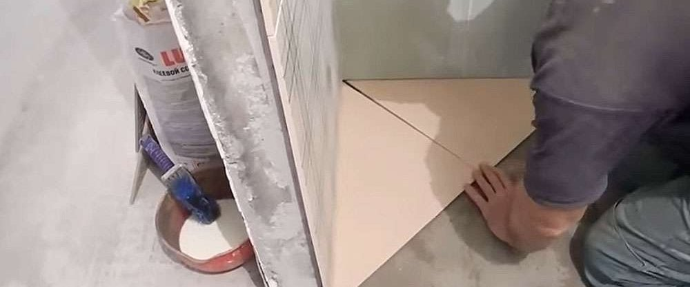 Плитка под мрамор своими руками