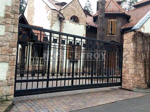 Поставьте на своем участке откатные ворота от Ник-Строй