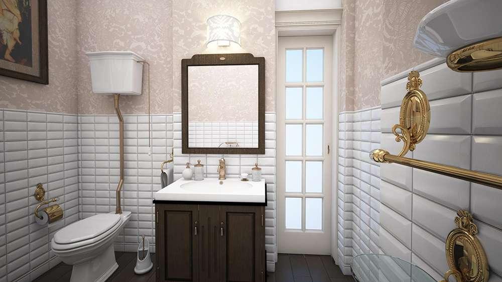 Чем отделать стены в ванной фото 5