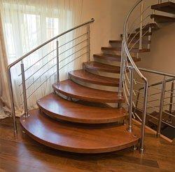 Марш лестницы, ширина лестничного марша, лестничные марши ступени