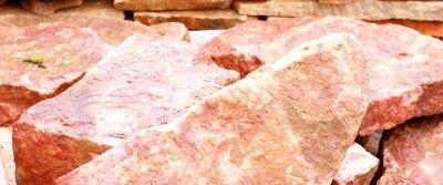 Бетон с разными видами щебня (кварцитопесчаник или гранит) в качестве заполнитлея