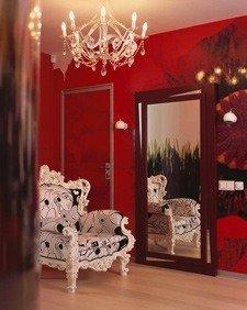 Зеркала в оформлении интерьера гостиной