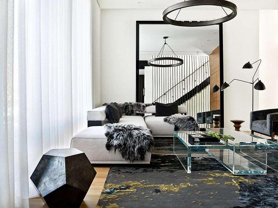 Черно-белый дизайн - один из лейтмотивов скандинавского стиля