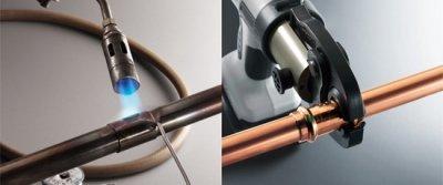 Правильная пайка медных труб и электрических проводов