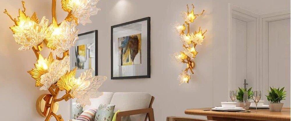 5 необыкновенных настенных ламп с AliExpress