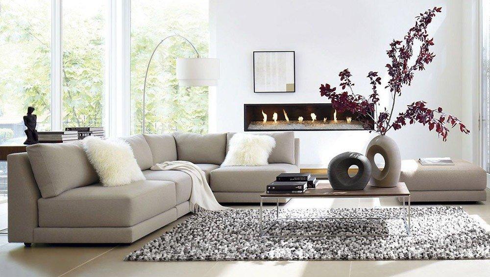 Мягкая мебель для гостиной: 10 идей интерьера фото 02-03