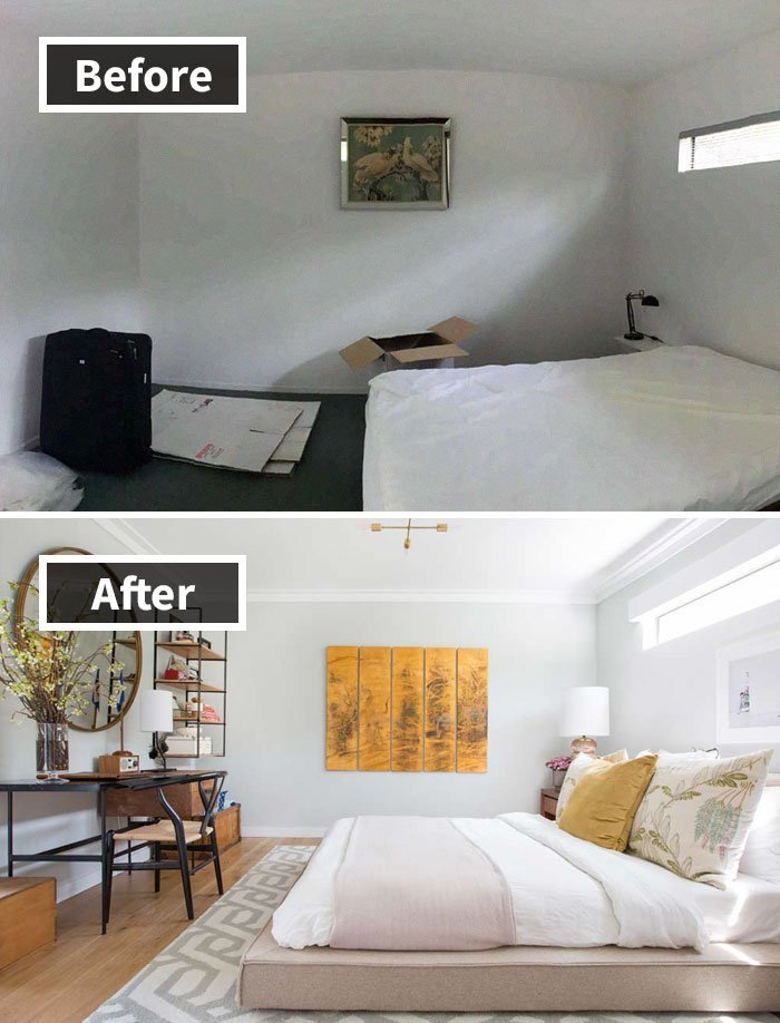 Ремонт до и после фото 6