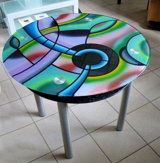 Окраска мебели