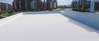 Белая мембрана LOGICROOF для устройства энергоэффективной кровли в частном домостроении