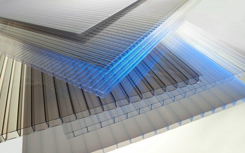 Сотовый поликарбонат для теплиц и навесов