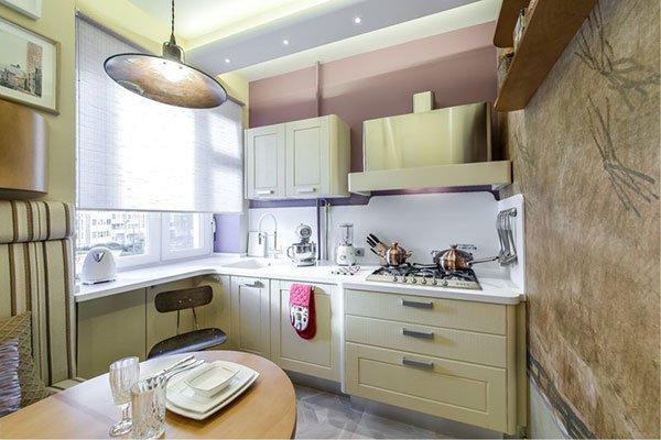 ТОП-10 идей для маленькой кухни фото 6