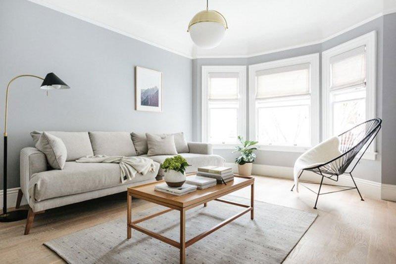 Правило 2: В интерьере  в стиле минимализм белый потолок - хорошо!
