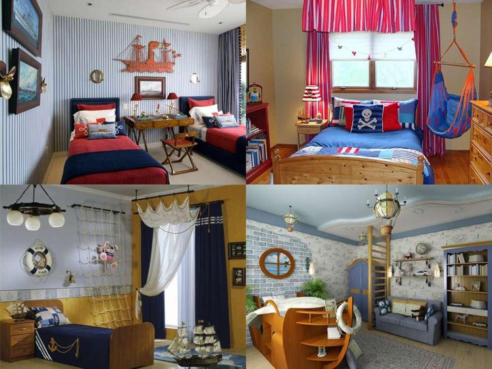 Интерьер в морском стиле: как оформить комнату с фото и примерами