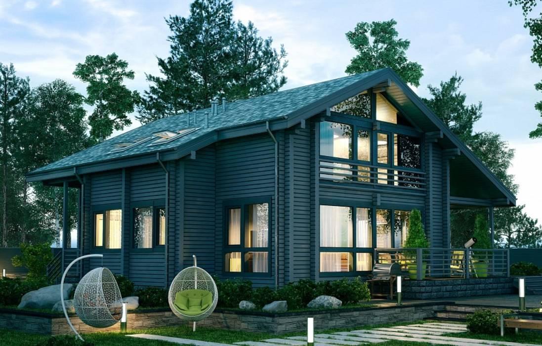 Почему клееный брус лучше для строительства дома