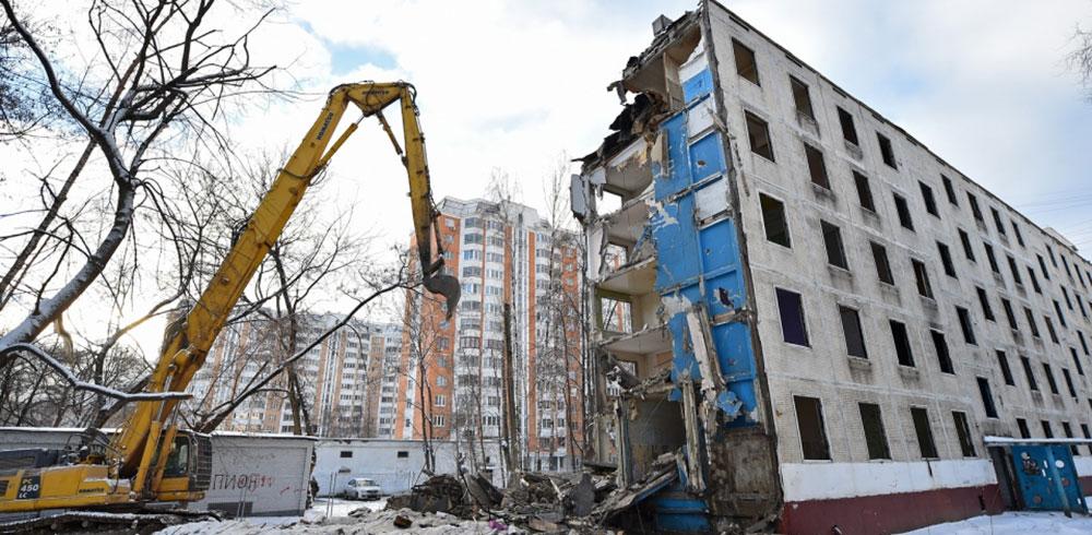 Реновация пятиэтажек в Москве