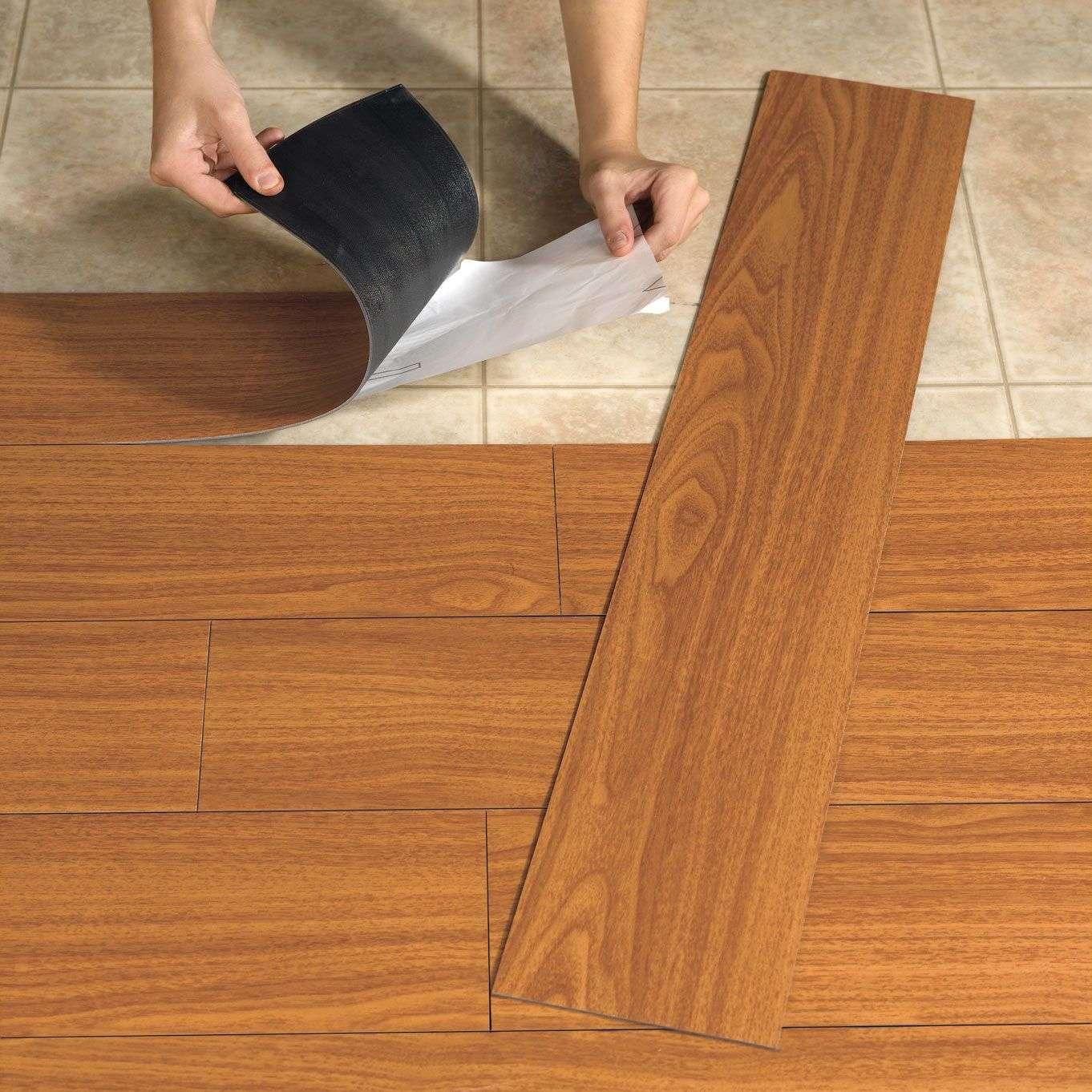 Как выбрать виниловую плитку