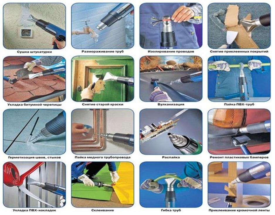 Как выбрать строительный фен