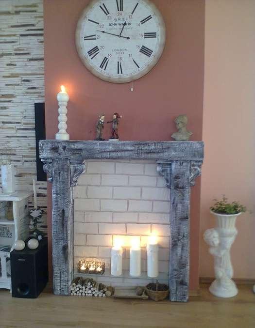 10 оригинальных идей оформления фальш камина в интерьере квартир