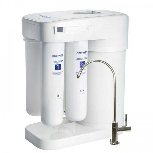 Рейтинг фильтров для воды под мойку - Аквафор DWM-101S Морион