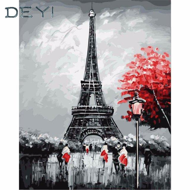 Романтичный Париж у вас домаDEYI