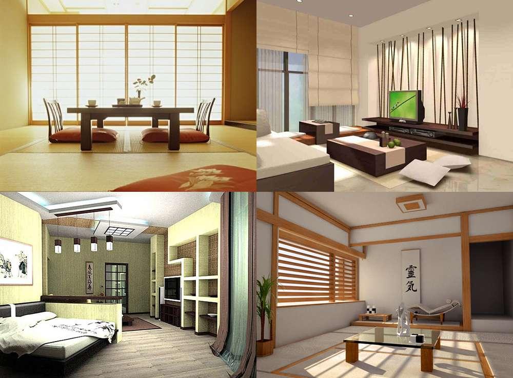 Японский стиль в интерьере фото 2