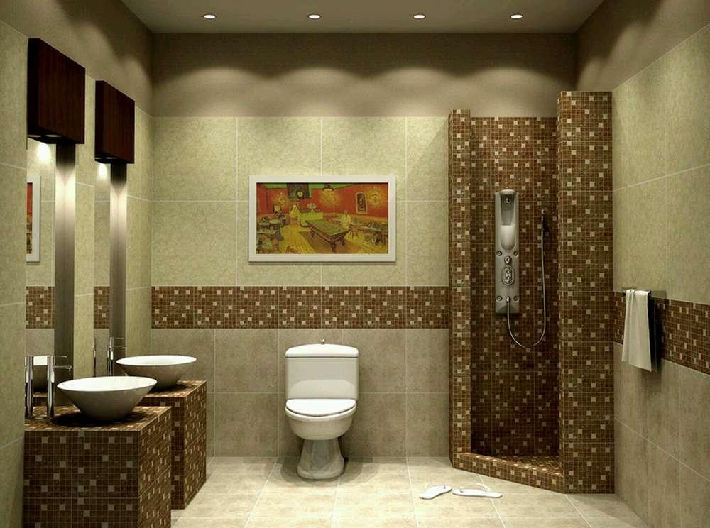 Чем отделать стены в ванной фото 7