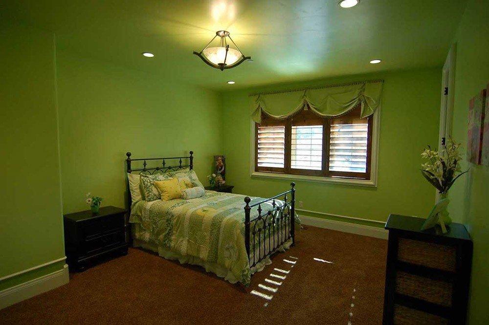 Сочетания зеленого и коричневого цвета в интерьере фото 2