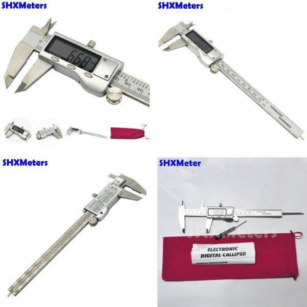 Электронный штангенциркуль SHXMeters (диапазон - 0,01 мм до 150 мм)
