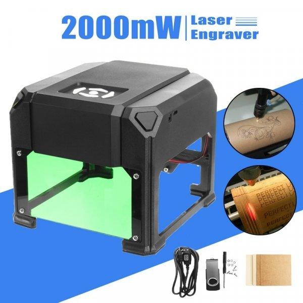 Настольный лазерный гравер от WOLIKE (2000 МВт)